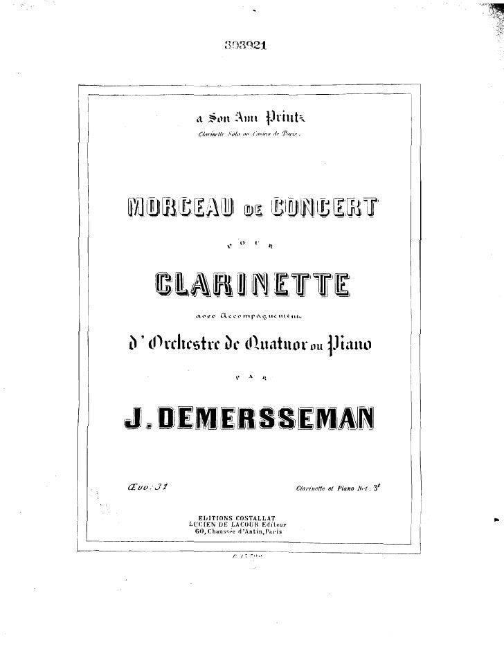 Demersseman Morceau de concert_pno_clarinete