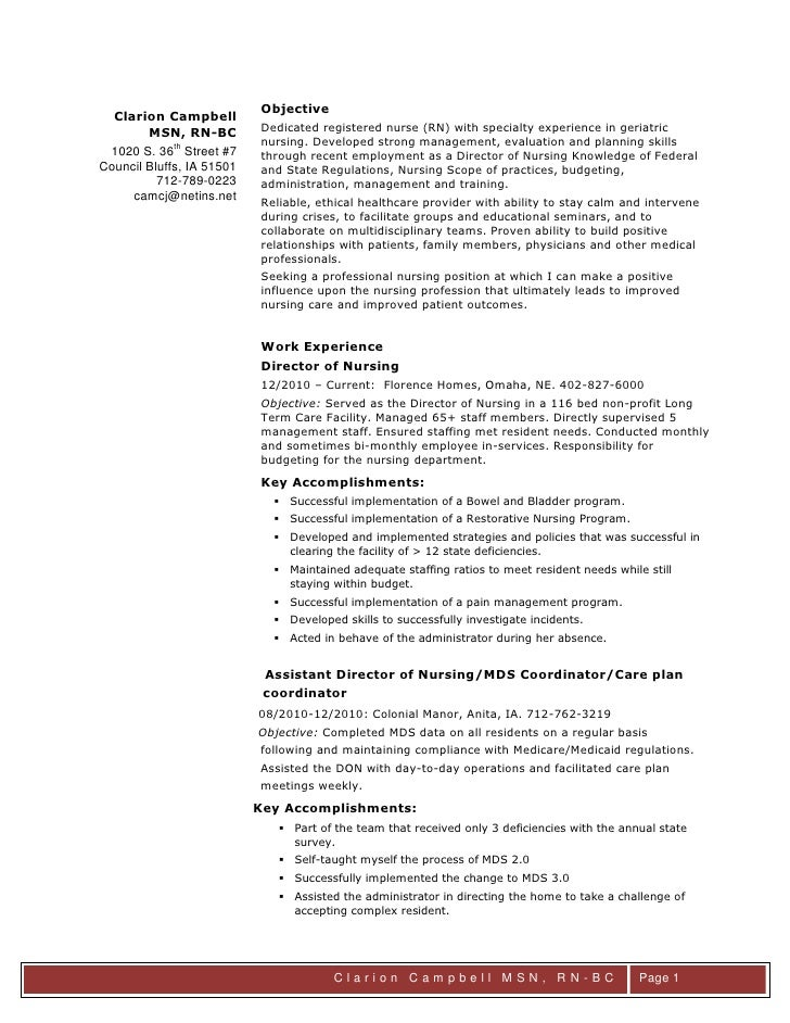 Clarion Campbell Msn 092011 Resume Final