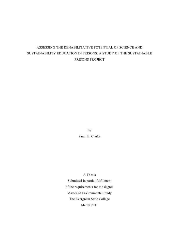 organic farming thesis