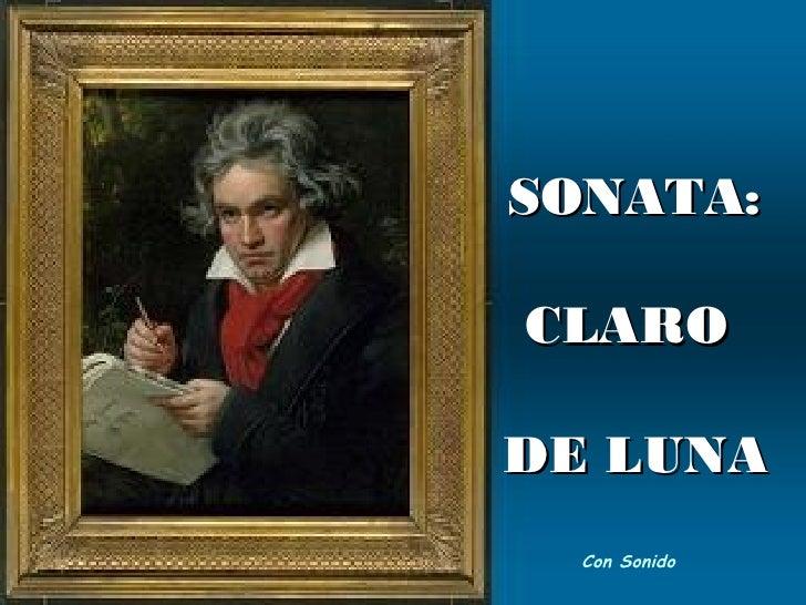 Claro De Luna   Beethoven