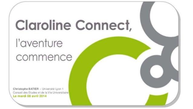 Clarolineconnect cevu avril 2014