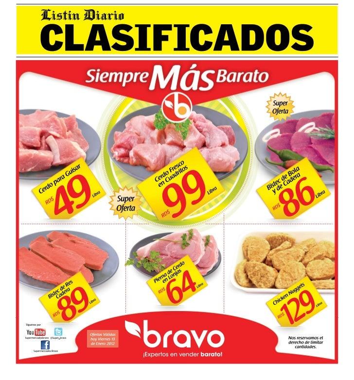 10 CLASIFICADOSVIERNES, 13 DE ENERO DEL 2012 SANTO DOMINGO, REPÚBLICA DOMINICANA