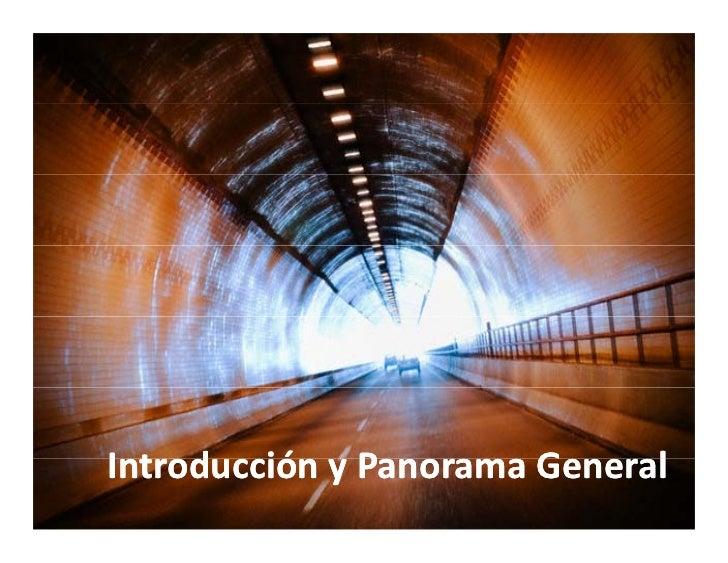 IntroducciónyPanoramaGeneral Introd cción Panorama General
