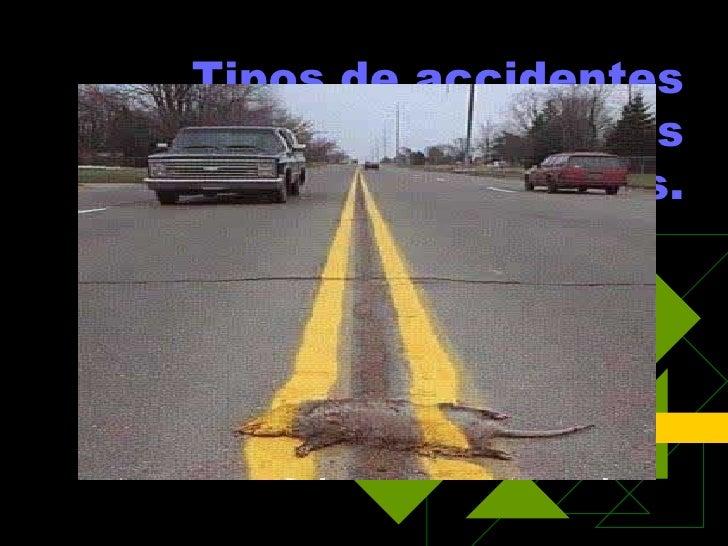 Tipos de accidentes laborales más frecuentes.