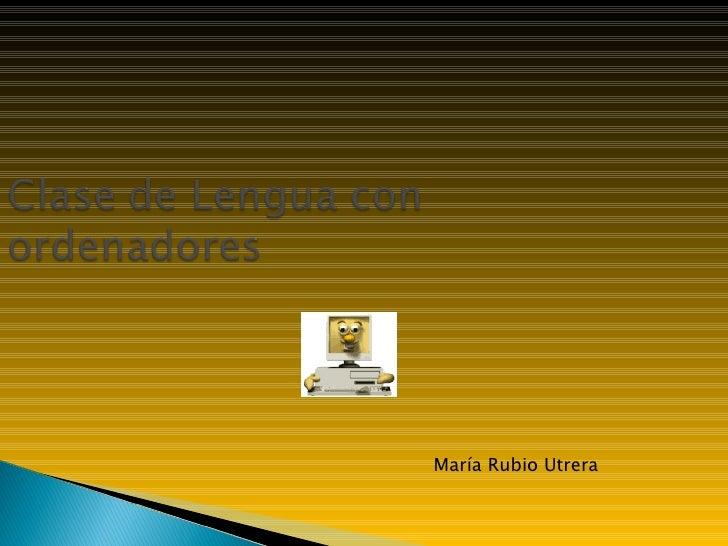 María Rubio Utrera