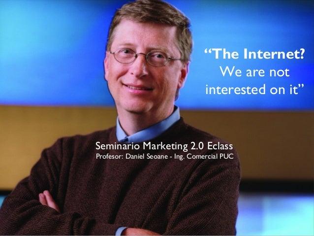 "New Marketing Seminario Eclass Profesor: Daniel Seoane - Director Activ@Mente Cono Sur daniel.seoane@activamente.com ""The ..."