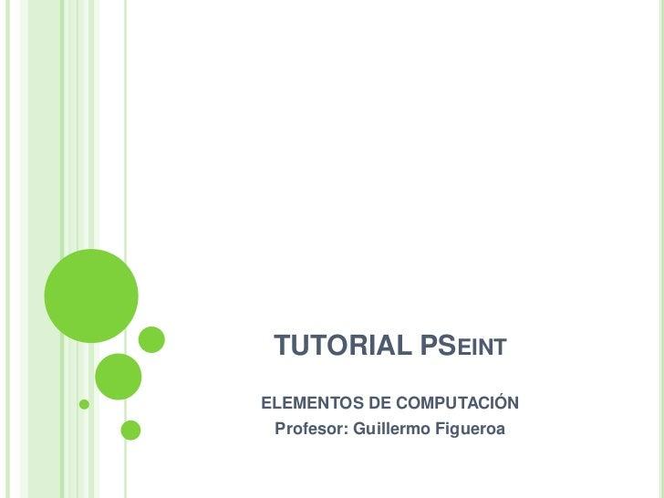 Clase04 tutorial p-seint