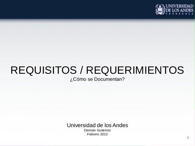 Clase 04b requerimientos documentacion