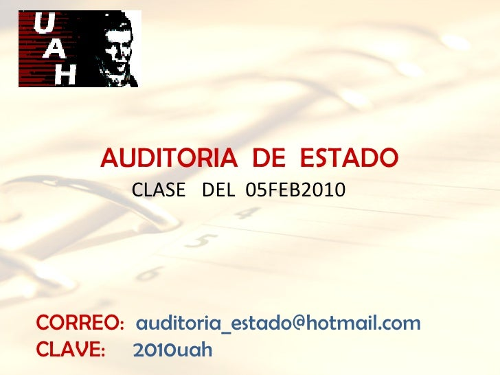 Clase   05 Feb2010