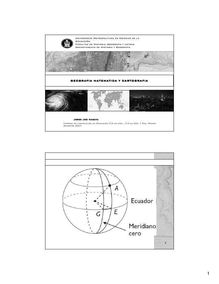 Universidad Metropolitana de Ciencias de la          Educación          Facultad de Historia, Geografía y Letras          ...