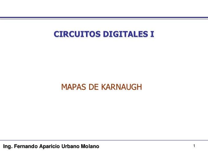 Clase Diagramas de Karnaugh
