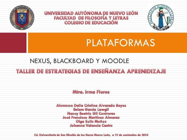 El uso de Plataformas en la educación