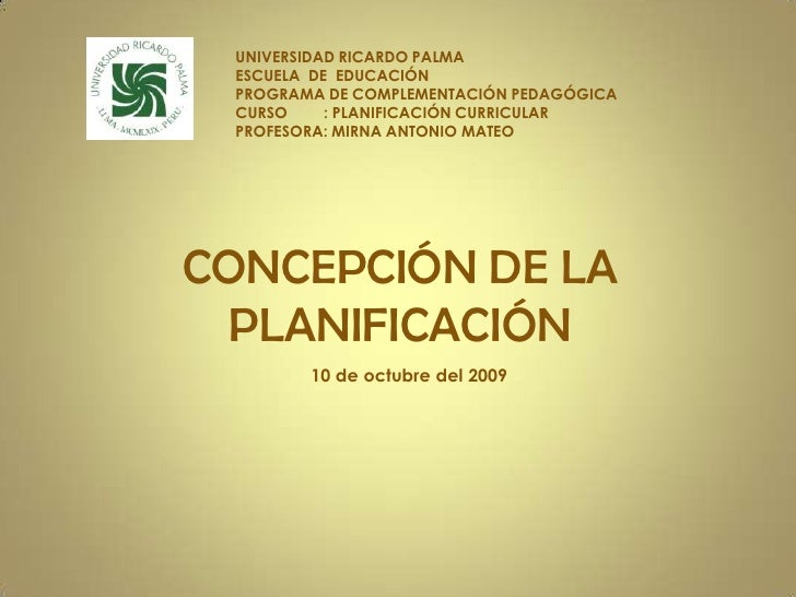Clase1 Concepcindelaplanificacin Oct10 091012214428 Phpapp02