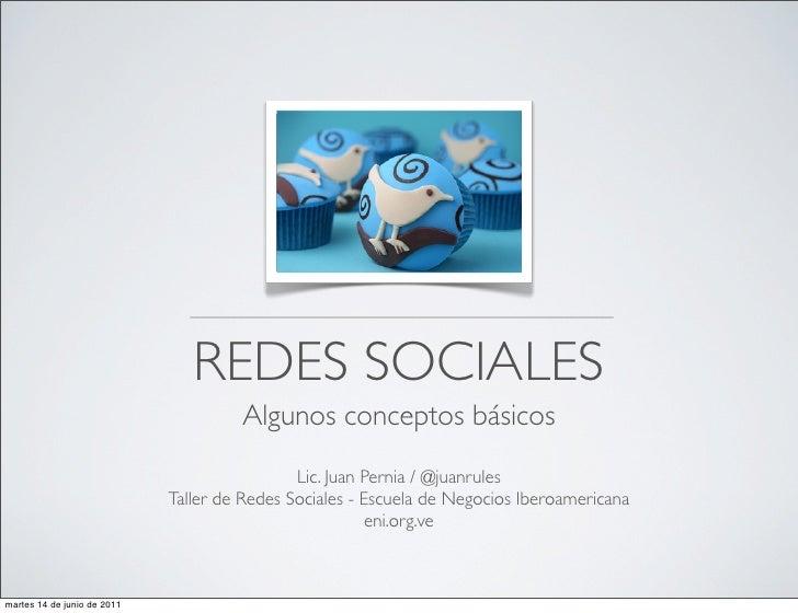 Clase 1  Conceptos básicos taller de Redes Sociales