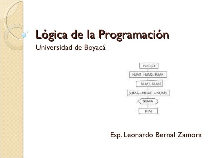 Clase 1. lógica de la programación