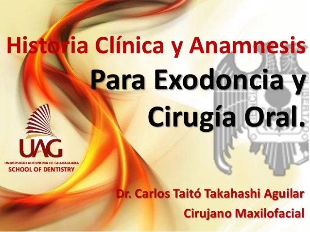 historia clinica anamnesis:
