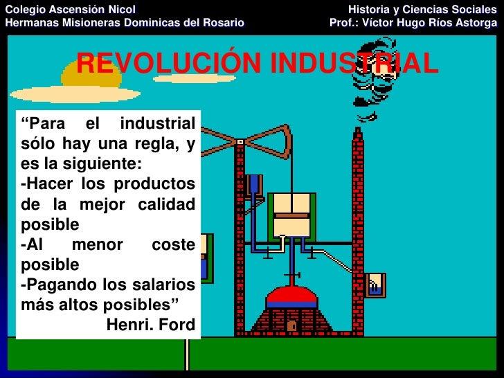 Clase 1 Revolución Industrial