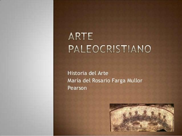 Clase 2 1 arte paleocristiano y bizantino