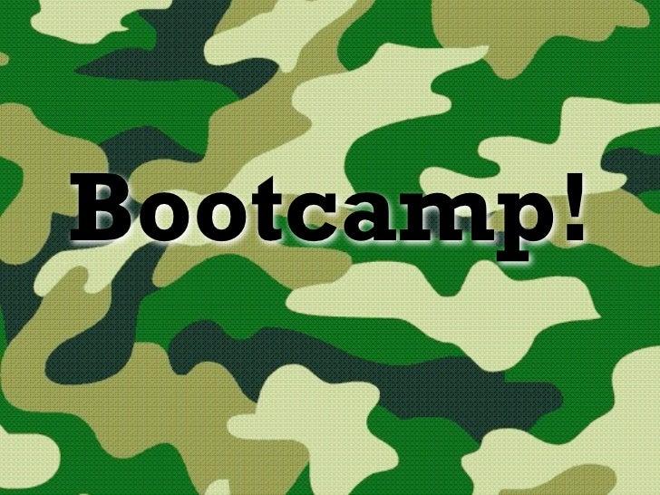 Bootcamp: 10 tips para armar un buen blog