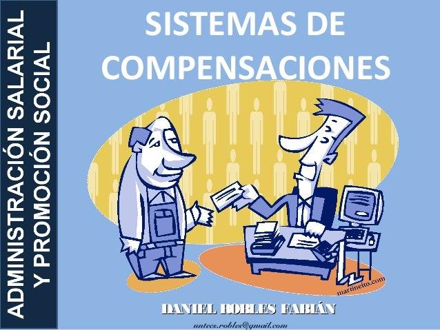 untecs.robles@gmail.com SISTEMAS DE COMPENSACIONES DANIEL ROBLES FABIÁNDANIEL ROBLES FABIÁN