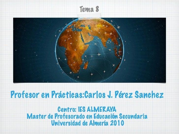 Carlos Javier Pérez Sánchez.Las Reservas y su Gestión 3/4