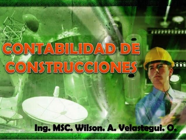 CONTABILIDAD DE CONSTRUCCIONES TRES