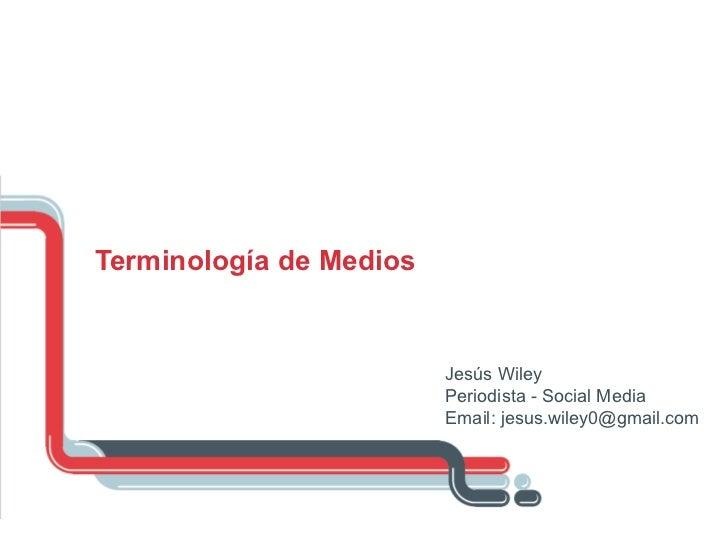 Terminologías II