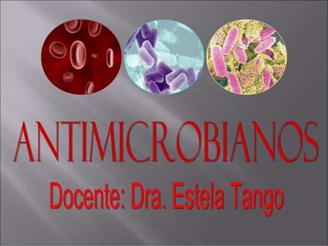 Clase4 antimicrobianos