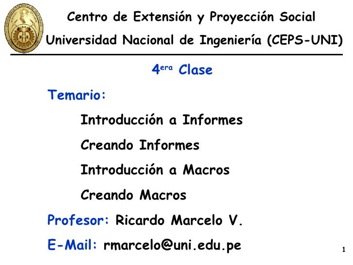 Access Clase 04