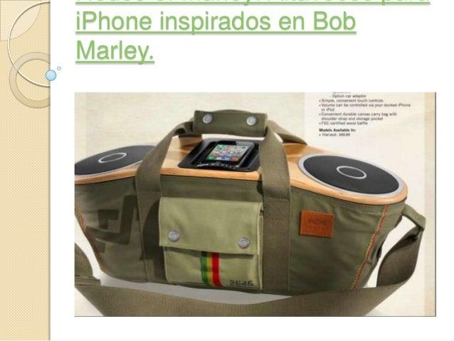 iPhone inspirados en BobMarley.