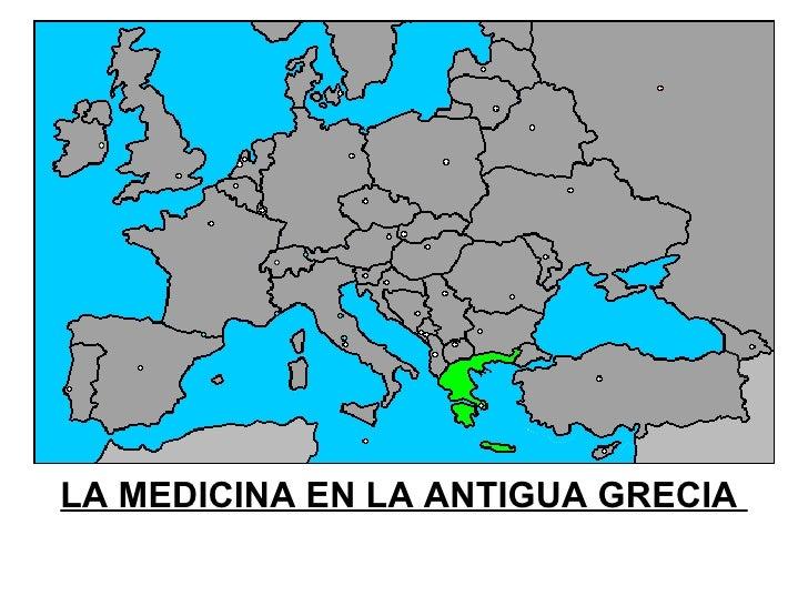 LA MEDICINA EN LA ANTIGUA GRECIA