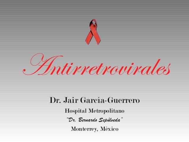 Antirretrovirales contra el VIH