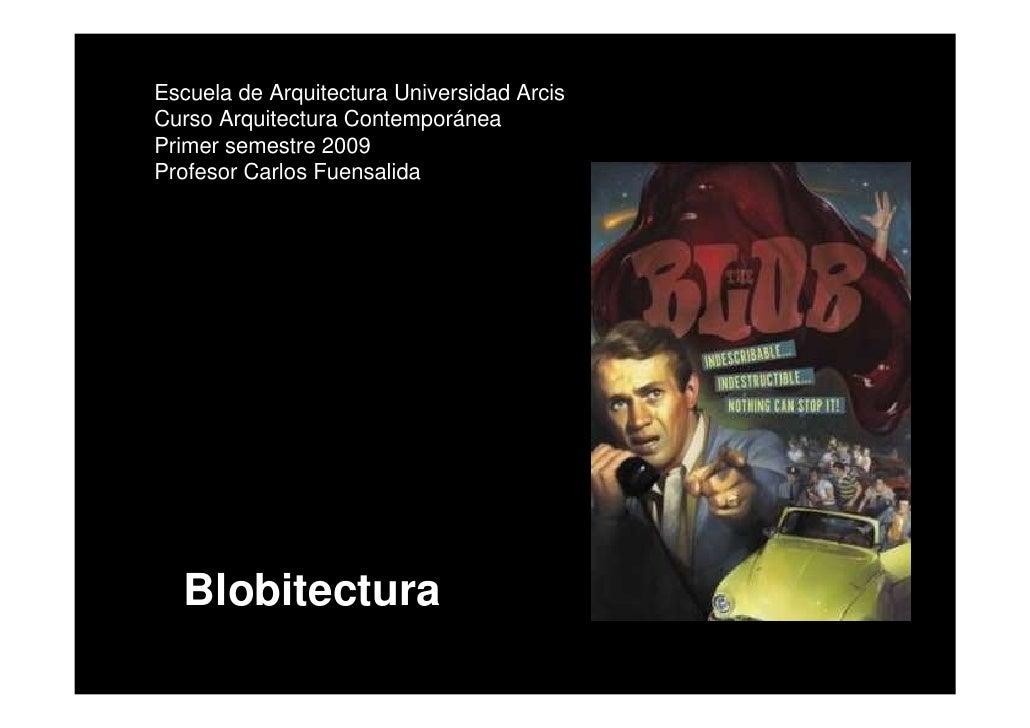 Clase Blobitectura