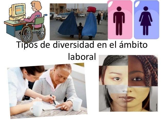 Tipos de diversidad en el ámbito laboral