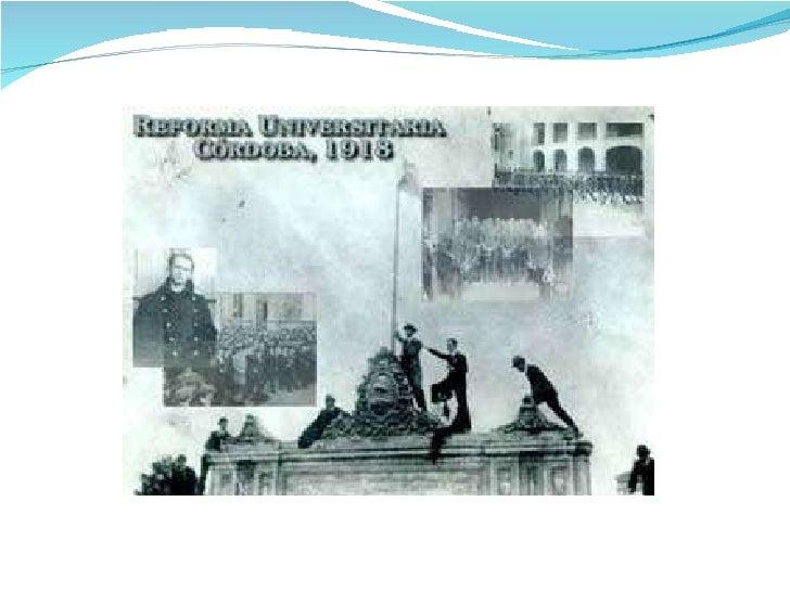 Tercera Clase. Reforma Universitaria  2010