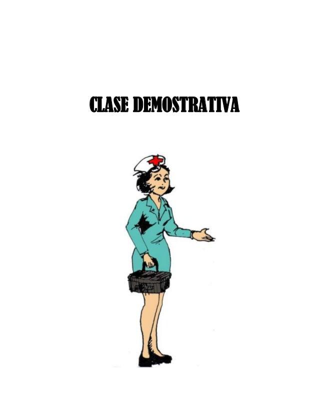 Clase demostrativa 2014
