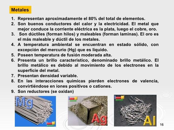 Educando el portal de la educacin dominicana clasificacin de los elementos segn sus propiedades urtaz Images