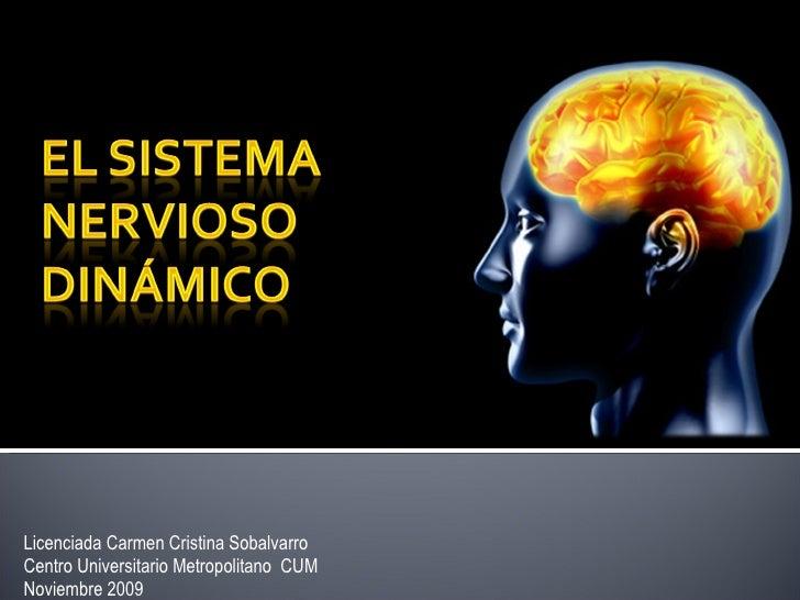 Licenciada Carmen Cristina Sobalvarro Centro Universitario Metropolitano  CUM Noviembre 2009