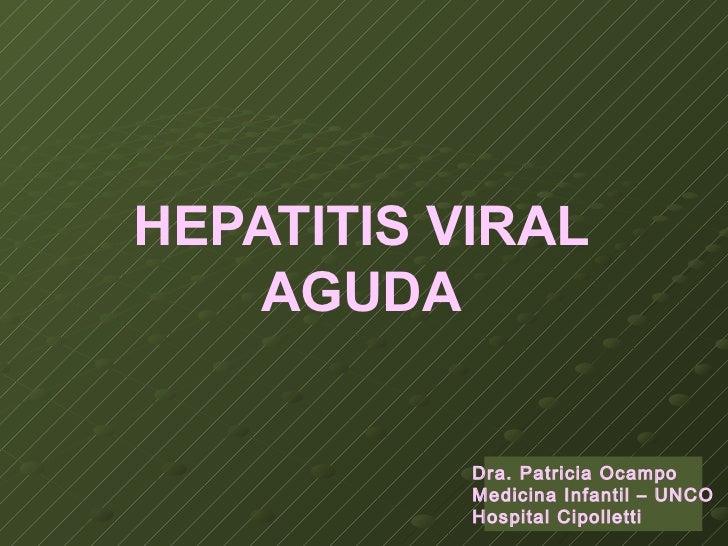 Clase hepatitis agudas1