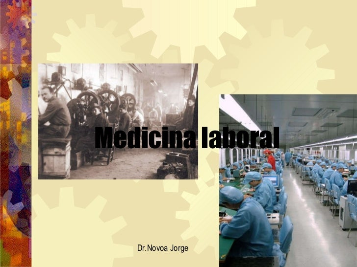 Medicina laboral Dr.Novoa Jorge