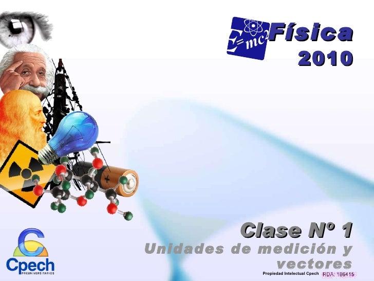 Clase nº1 fisica 2010 (pp tminimizer)