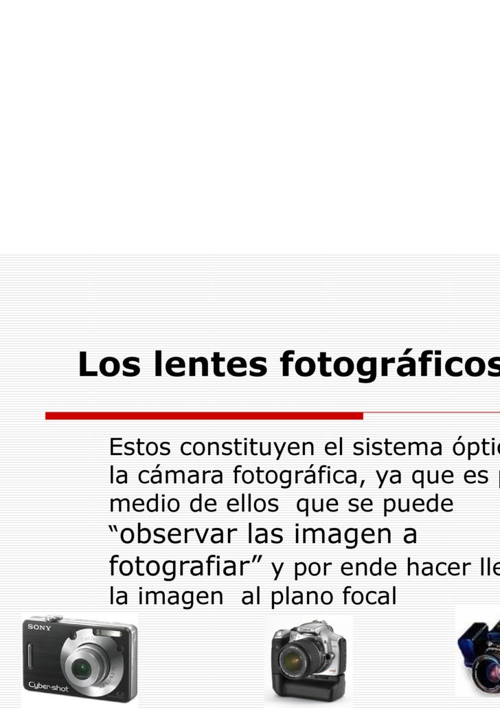 La Optica Fotografica En Formato Digital