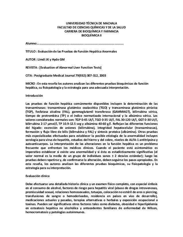 UNIVERSIDAD TÉCNICA DE MACHALA FACULTAD DE CIENCIAS QUÍMICAS Y DE LA SALUD CARRERA DE BIOQUÍMICA Y FARMACIA BIOQUÍMICA II ...