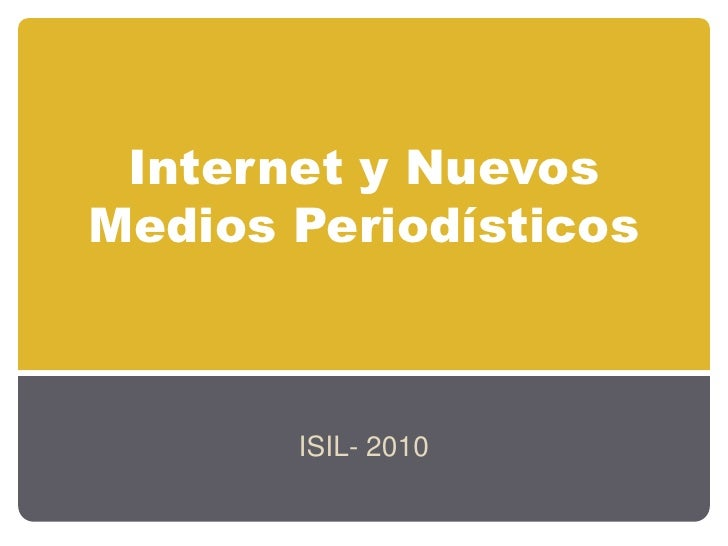 Taller Presencial ISIL 2010