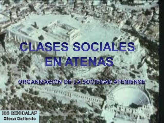 Clases sociales en Atenas