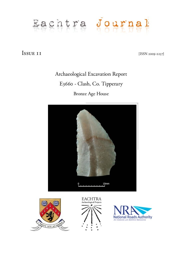 Archaeological Report - Clash, Co. Tipperary (Ireland)