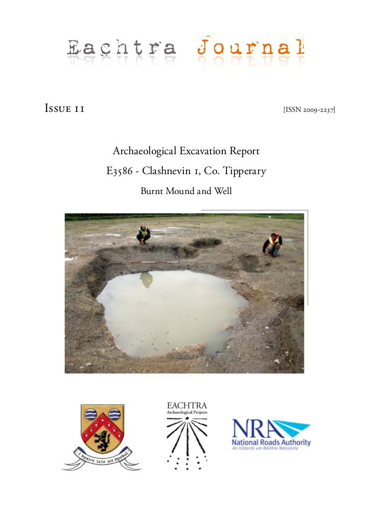 Archaeological Report - Clashnevin 1, Co. Tipperary (Ireland)