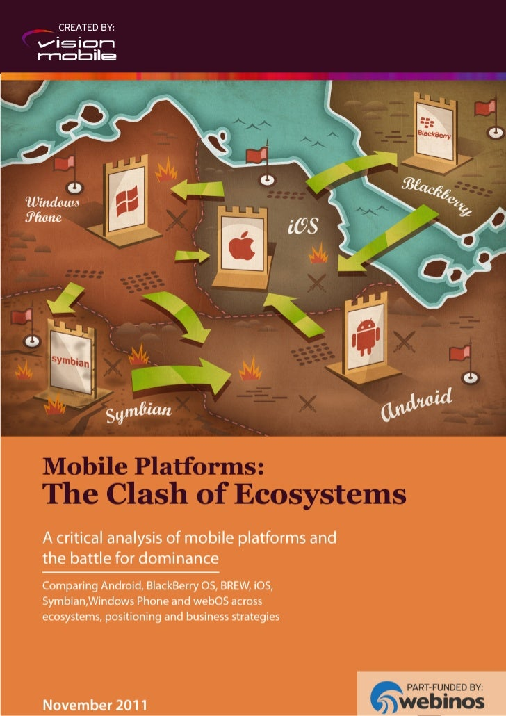 Mobile Platforms: The Clash of Ecosystems                                            © VisionMobile 2011 | www.visionmobil...