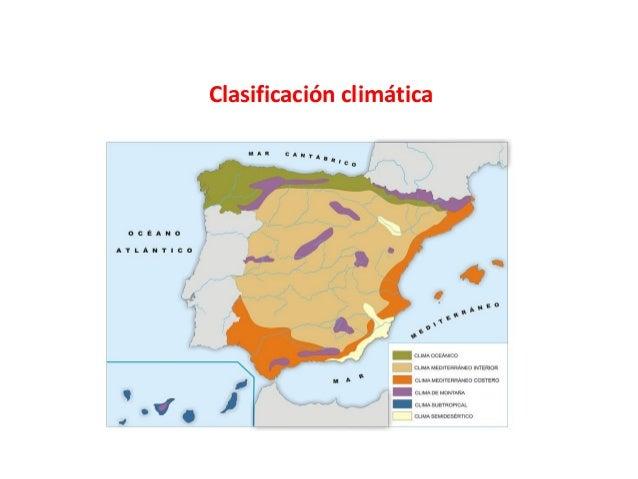 Clasificación climática