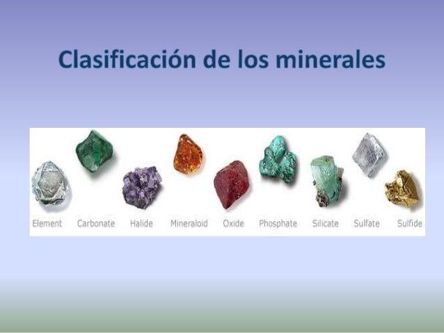 ¿cómo se clasifican los minerales? Silicatos. Contienen oxígeno y silicio. cuarzo feldespato olivino Mica blanca (moscovit...